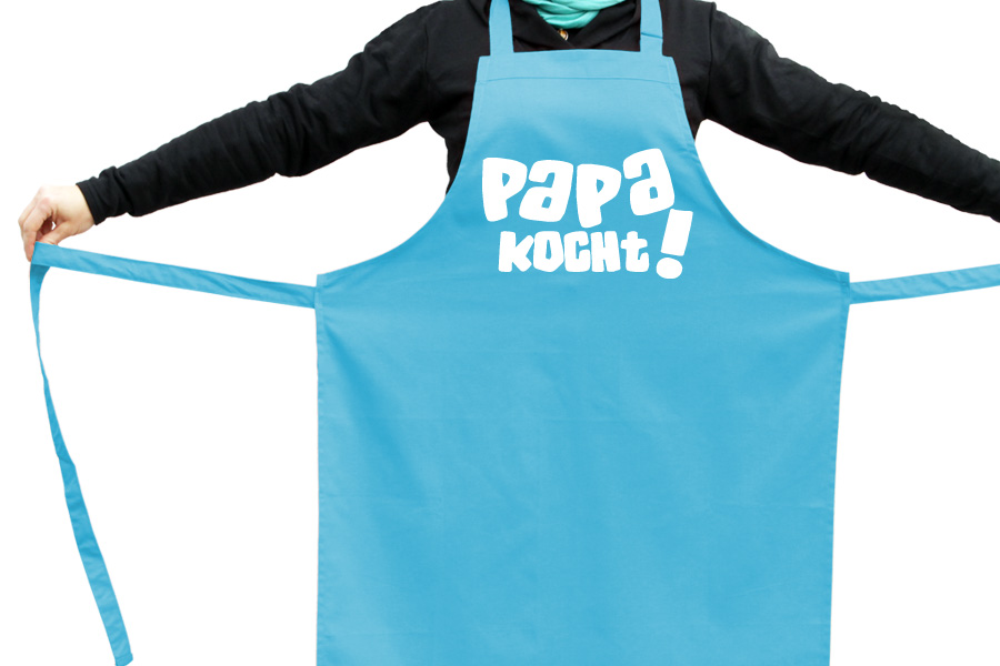 lustige Kochschürze Papa ist der beste Koch Grillschürze Schürze geil bedruckt